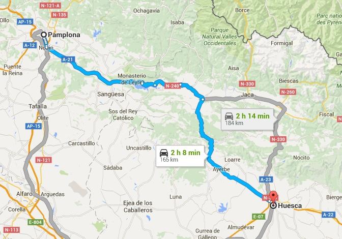 Pamplona Huesca